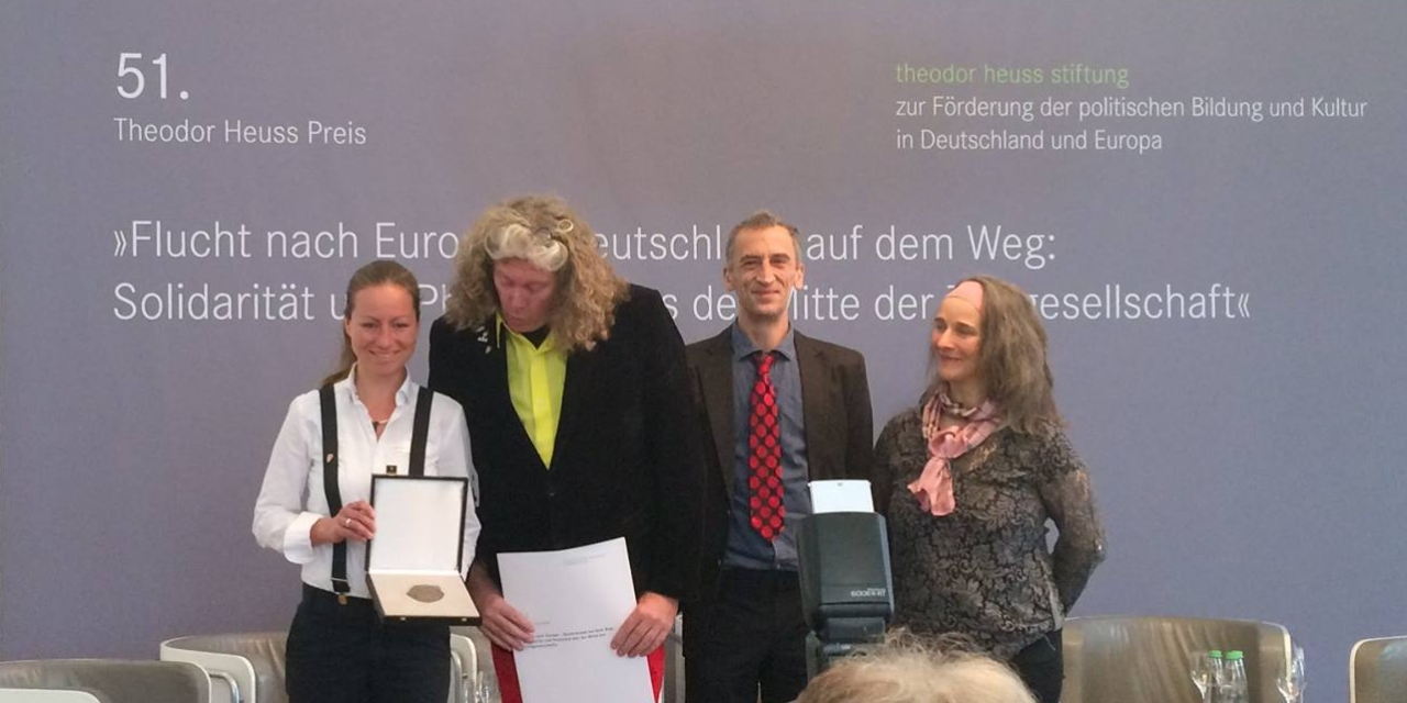 Verleihung der Theodor-Heuss-Medaille