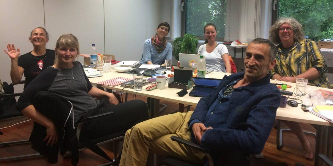 Vorstandssitzung im Sommer 2018