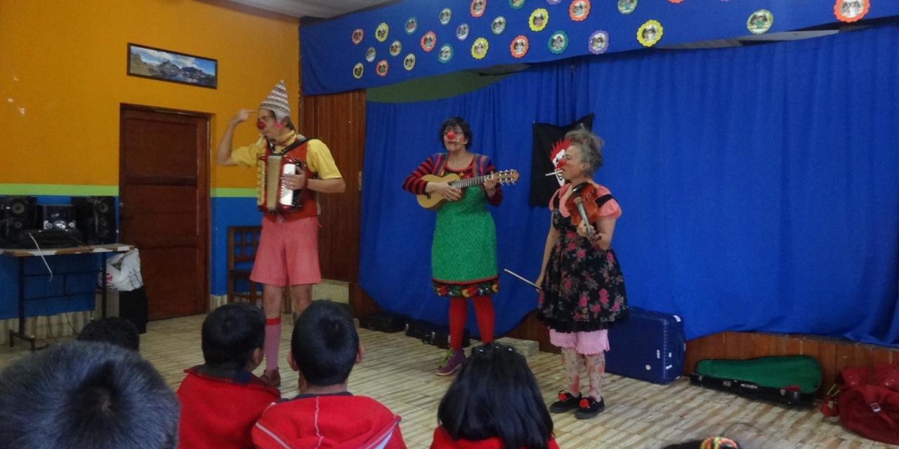 Benefizshow des Bolivien-Teams